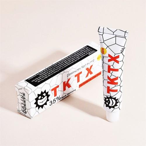 TKTX 35% анестетик обезболивающий крем для тату для татуажа для пирсинга супер эффективный 3 - 4 часа без боли