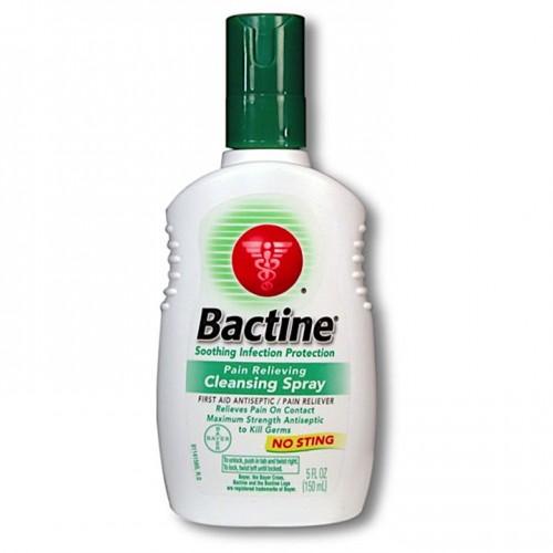 150 мл. 2 в 1 USA Bactine анестетик и антисептик спрей обезболивающее и обеззараживающее для тату для татуажа
