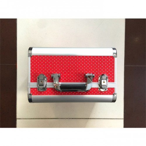 Кейс для оборудования, для косметолога, для инструмента, для расходного материала красный