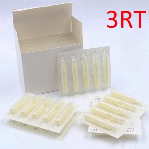 3RT наконечники стерильные из пластика для тату игл 1RL, 2RL, 3RL, 3RS