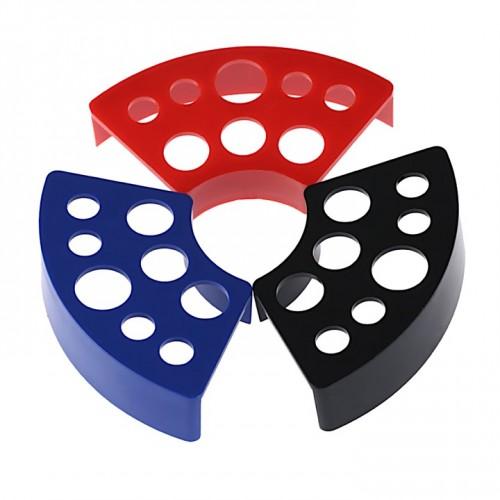 Подставка стойка для колпачков для краски для пигментов