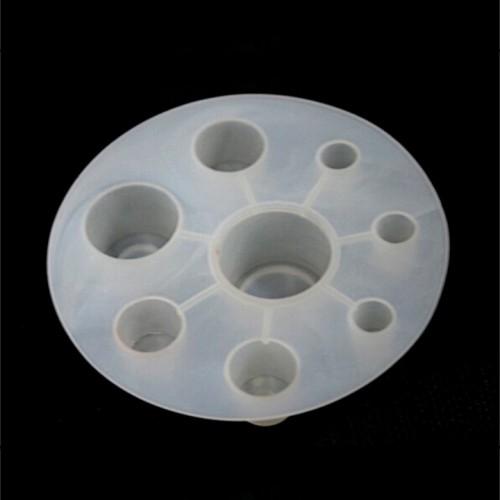 Подставка для колпачков круглая пластиковая