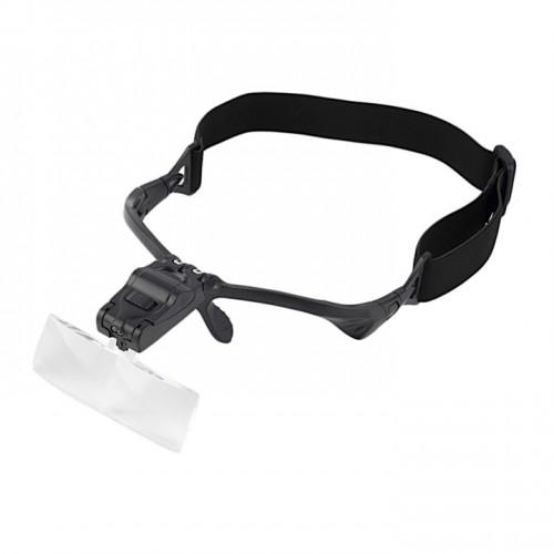 5 линз Очки лупа косметологические увеличительные очки с подсветкой