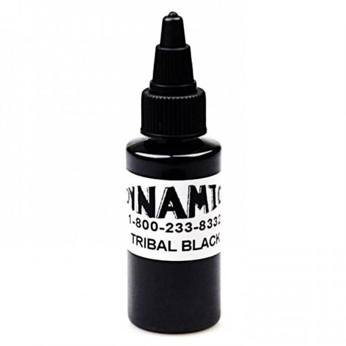 Dynamic tribal black тату краска черная 30 мл.