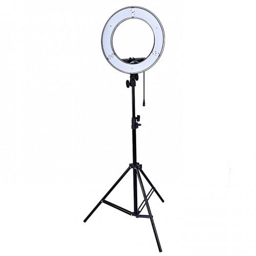 LED лампа кольцо косметологическая, для наращивания ресниц, для татуажа, для тату, для визажиста, для фото съемок