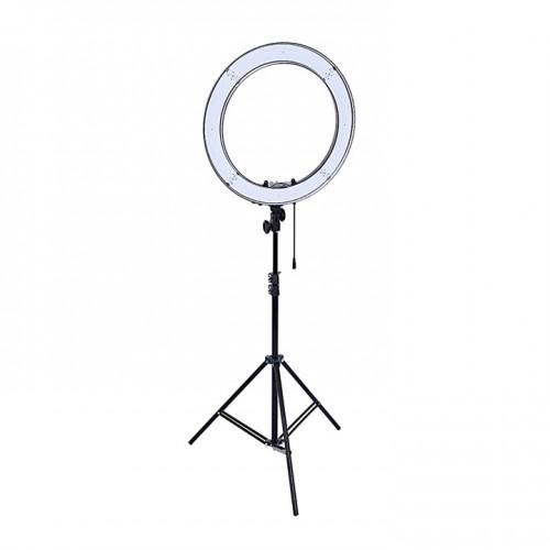LED лампа для косметолога, для визажиста, для наращивания ресниц, для татуажа, для тату, для фото съемок с триподом