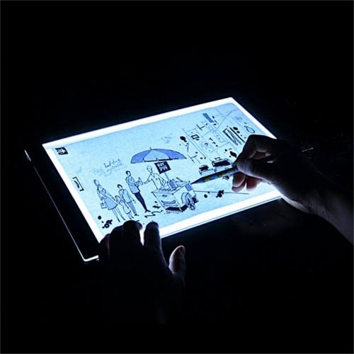 LED планшет для копирования перерисовки тату рисунков