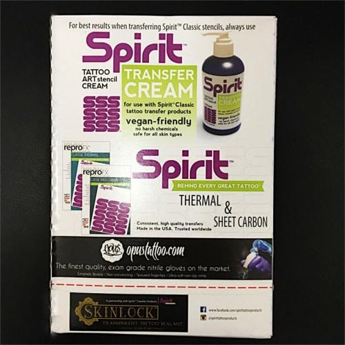SPIRIT трансферная бумага для ручной прорисовки тату рисунков формат А4