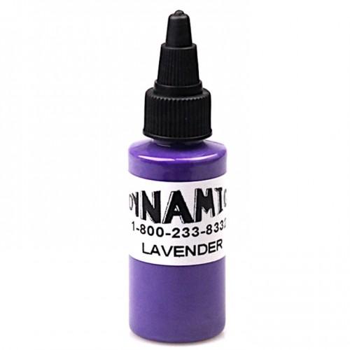 Dynamic lavender тату краска фиолетовая 30 мл.