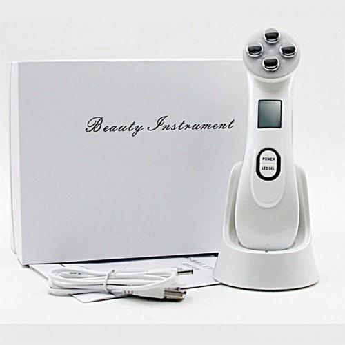3 в 1 Аппарат для електропорации, для RF лифтинга, для LED свето-терапии для ухода за кожей лица Skin Pro 9900
