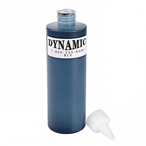 240 мл. DYNAMIC черная краска для тату универсальная для контура и для закраса