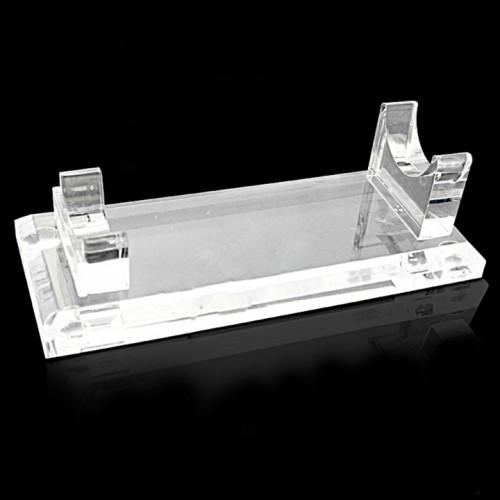 Подставка для машинки ручки с прозрачного толстого пластика