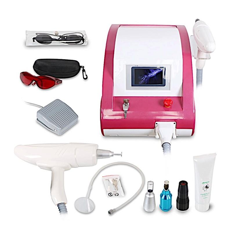 Q-Switch ND YAG 500 Ватт лазер для удаления татуажа, для удаления тату, для карбонового пилинга