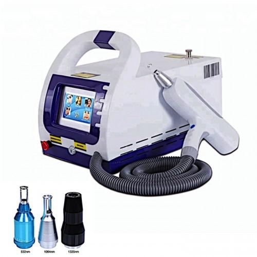 Q-Switched ND YAG лазер для удаления тату и татуажа, для карбонового пилинга 500 Ватт 1000 мДж
