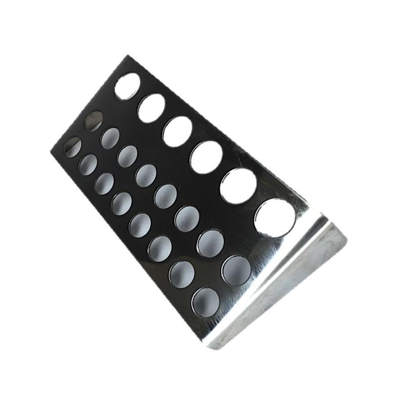 Металическая большая подставка для колпачков маленьких, средних и больших на 22 места