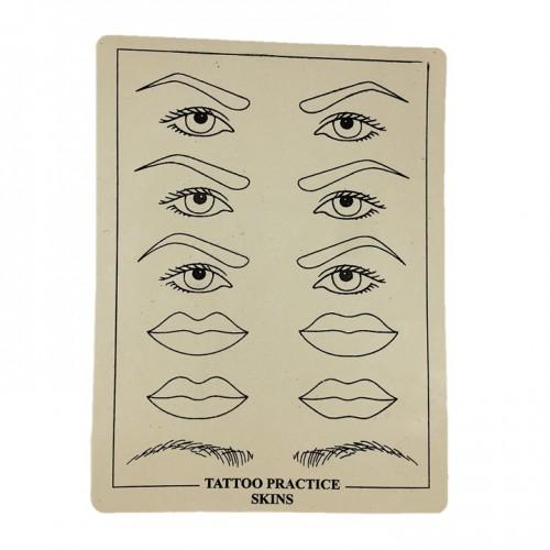 Коврик для тренировки для татуажа брови веки губы