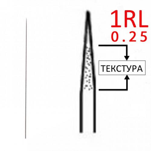 1RL 0,25 текстурированные иглы для машинок ручек для татуажа