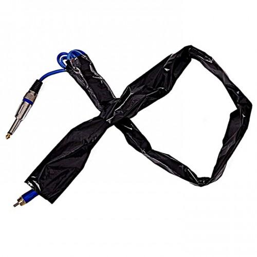 Чёрная барьерная защита на клипкорд 50мм х 810мм