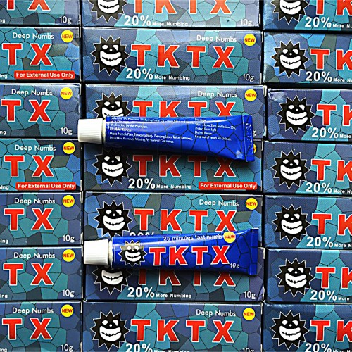 TKTX 20% анестетик обезболивающий крем 10 гр.