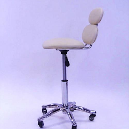 Кресло - стул мастера со спинкой для косметологии, для татуажа, для тату