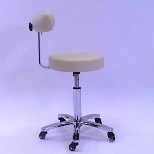 Стул - кресло со спинкои для мастера татуажа, косметологии, тату, депиляции