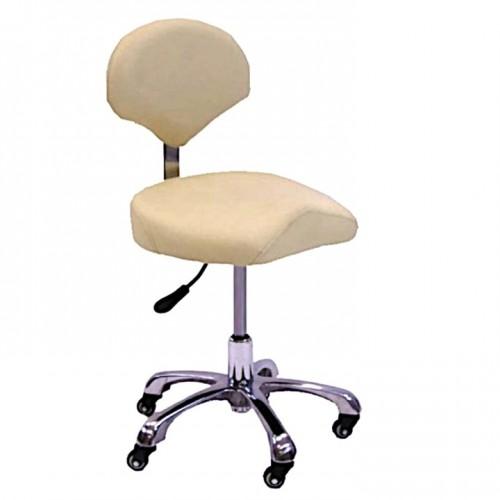 Кресло - стул мастера татуажа, косметолога, тату, педикюра с мягкои спинкои