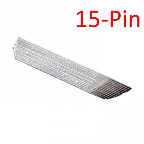 Иглы лезвия для микроблейдинга 15-Pin