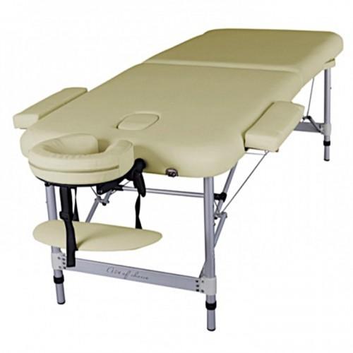 Стол массажный складной алюминиевый BOY для массажа, татуажа, тату, для наращивания ресниц, депиляции, косметологии