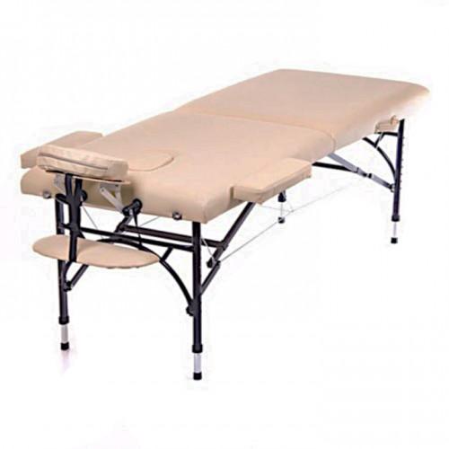 Кушетка массажная складная Perfecto алюминиевая легкая для массажа, татуажа, для наращивания ресниц