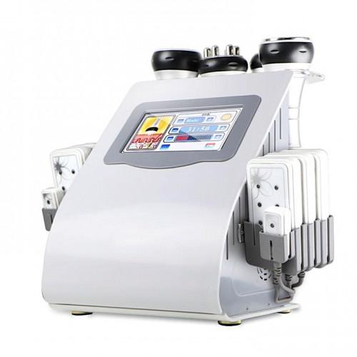 4 в 1 Липолазер, RF-лифтинг для лица и тела, Вакуумная терапия, УЗ-кавитация WL-919MS аппарат для коррекции фигуры