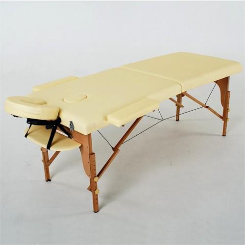 RelaxLine Lagune Массажный стол складной деревянный для массажа, татуажа, для тату, наращивания ресниц, шугаринга