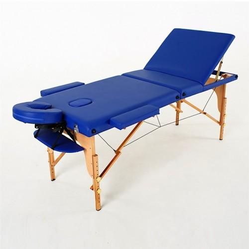 RelaxLine Barbados массажный стол складной деревянный 3-х секционный, для наращивание ресниц, для татуажа, тату, шугаринга