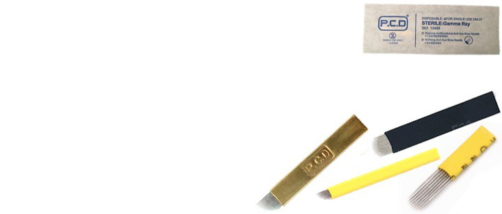 Иглы-Лезвия микроблейдинг
